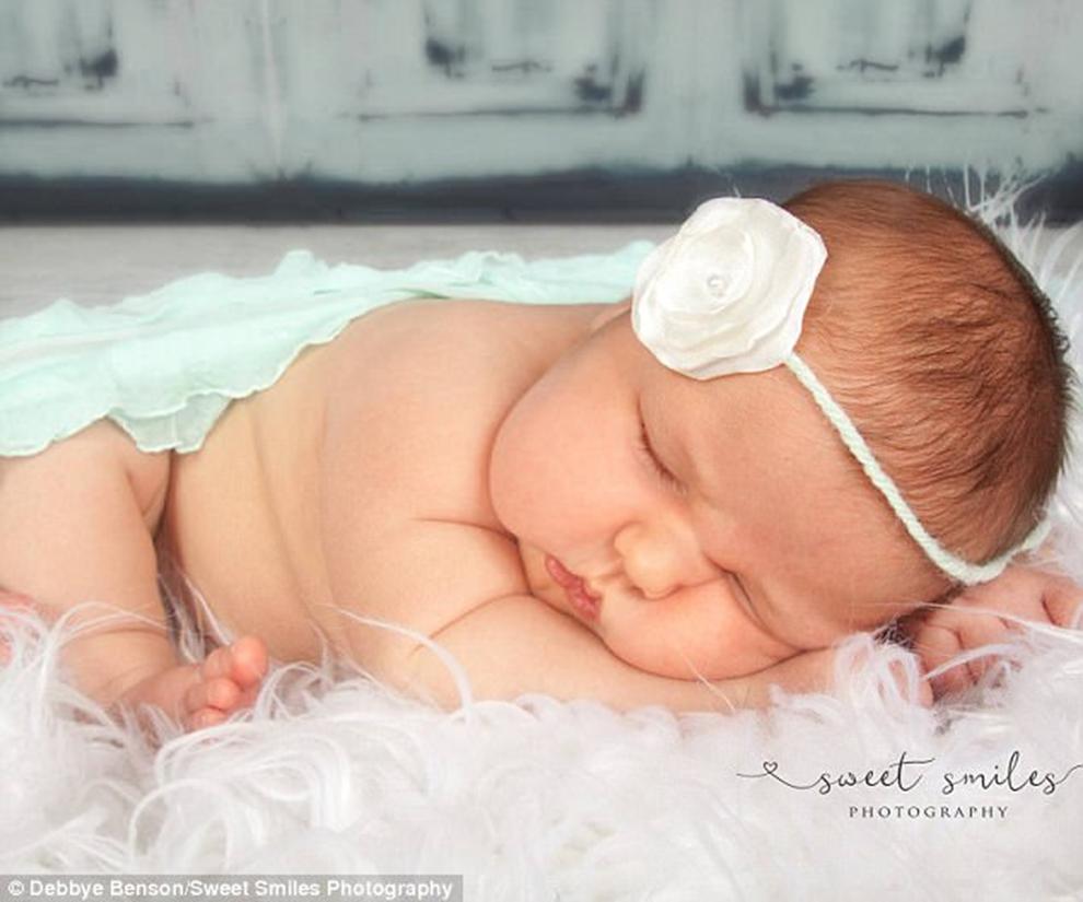 Adorable bebé Carleigh Corbitt