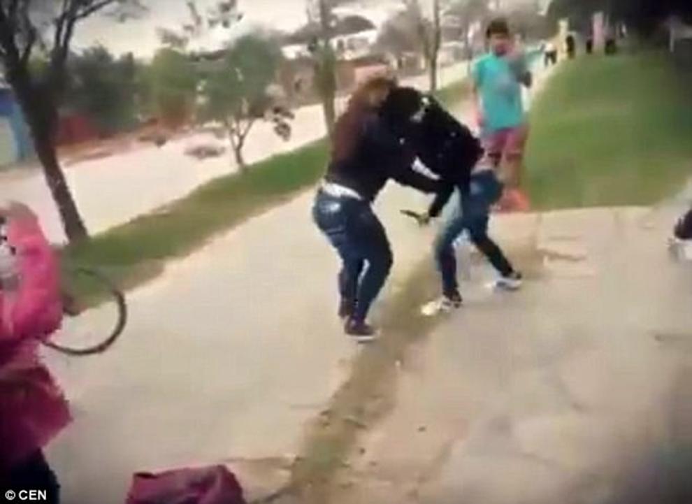 pelea argentina2
