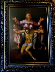 Jesucristo Agonizante Cortesía de Martin Kober (AP)