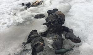 Los cuerpos momificados yacían muy juntos, con ropa propia de los años 40s